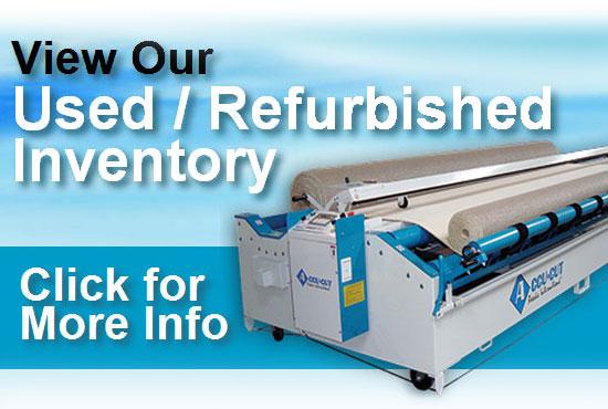 Used Carpet Cutting Machine Inventory Refurbished Accu Cut
